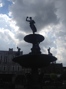 Bowling Green Fountain Square Park Fountain