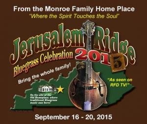 Jerusalem Ridge Bluegrass Celebration 2015
