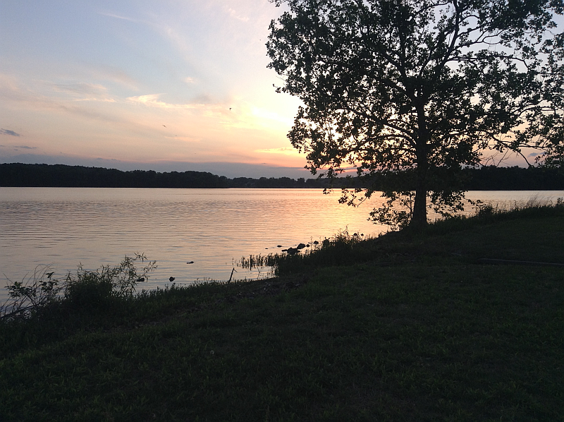 Lake Barkley at Sunset