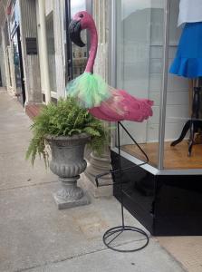 Pink Flamingo Downtown Bowling Green, Ky.