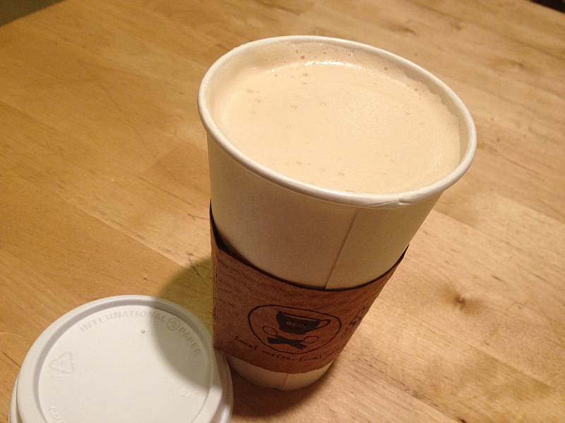 Etcetera Coffee house in Paducah - Chai Tea Latte