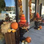 Autumn Decorations Downtown Greensburg