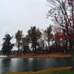 Madisonville City Park in Autumn