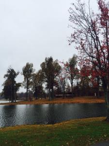 Madisonville City Park in Autumn