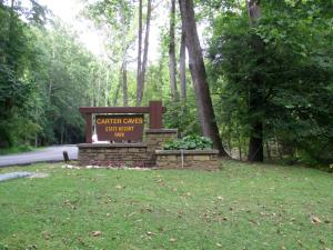 Carter Caves State Resort Park Sign