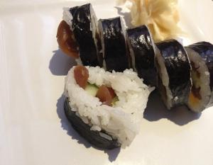 Sushi at Wasabi Express in Owensboro, Ky
