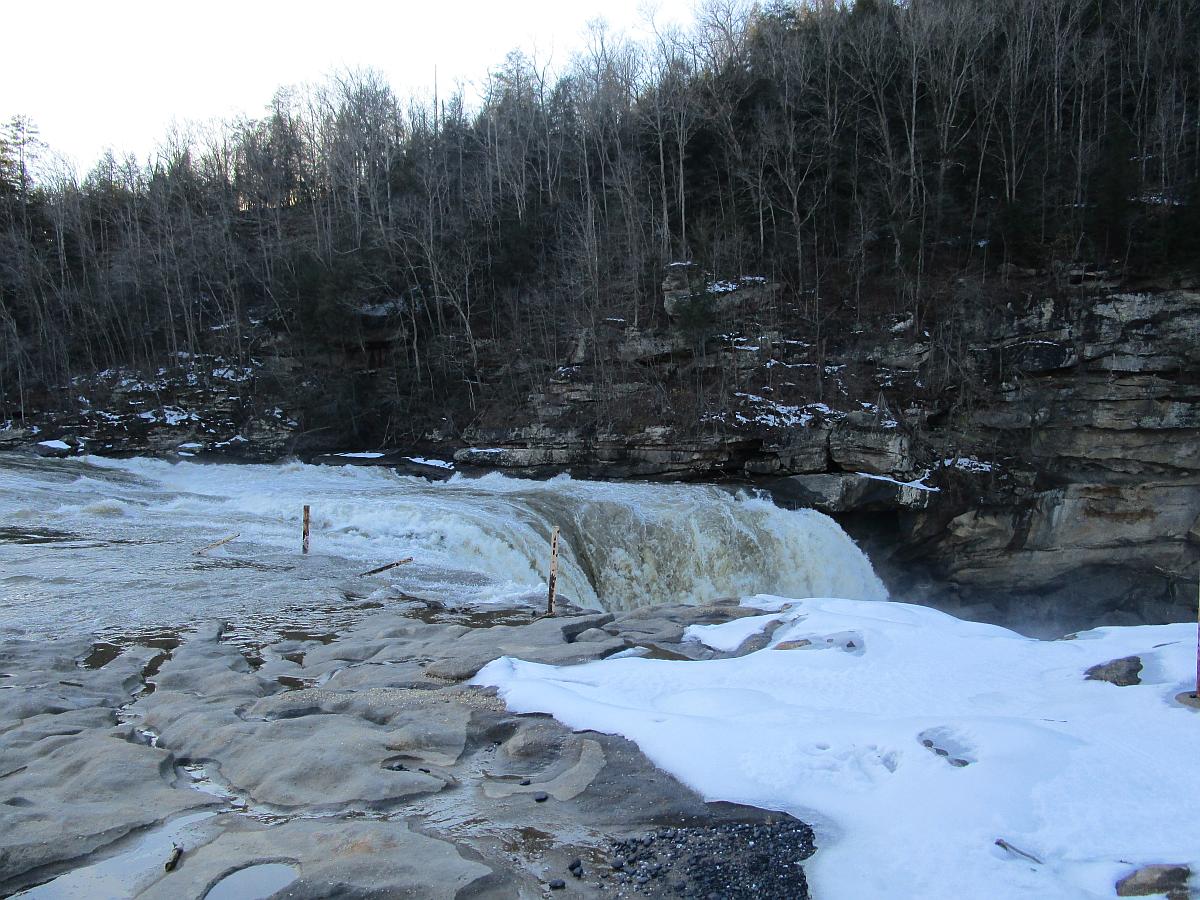 Cumberland Falls, January 2016