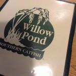 Willow Pond Menu