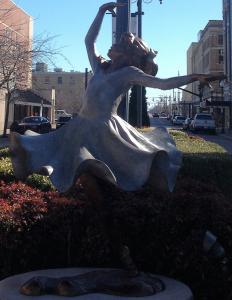 Celebration Statue Downtown Owensboro
