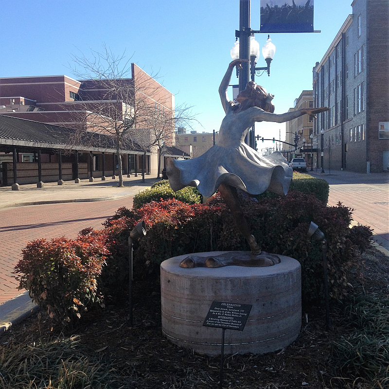 Celebration Statue Downtown Owensboro