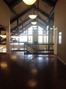 Inside The Mary Ray Oaken Lodge