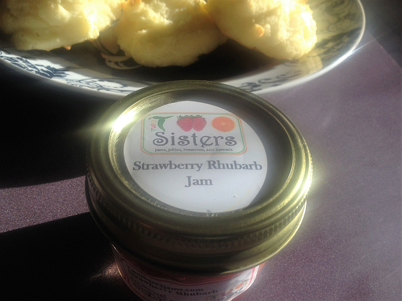 Two Sisters Jam: Strawberry Rhubarb Jam