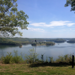 View Behind the Lodge at Dale Hollow Lake State Resort Park