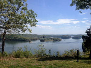 View Behind the Lodge at Dale Hollow State Resort Park