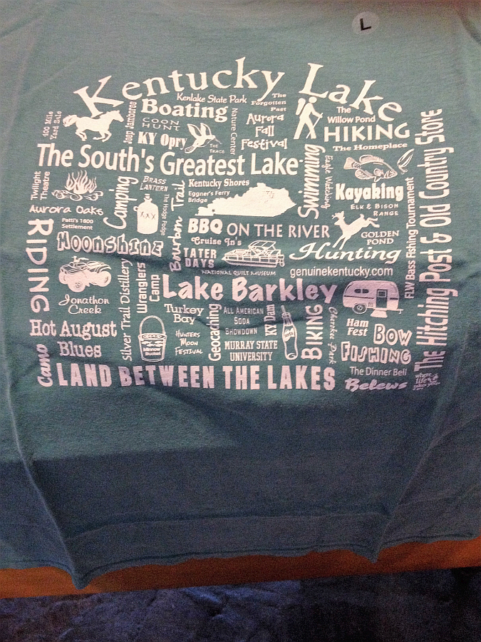 Kentucky Lake and Lake Barkley T-Shirt from The Hitching Post