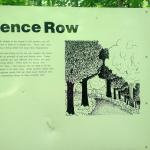 Fence Row Sign