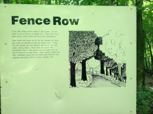 Fence Row Sign
