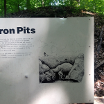 Iron Pits Sign