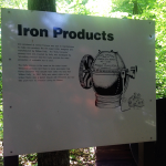 Iron Products Sign