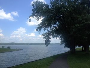 Kentucky Lake at Kenlake State Resort Park