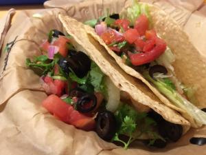 Shrimp Tacos at Salsarita's (Owensboro)