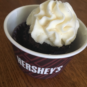 Hershey's Gluten Free Cupcake from Nona's Downtown Market in Owensboro, KY