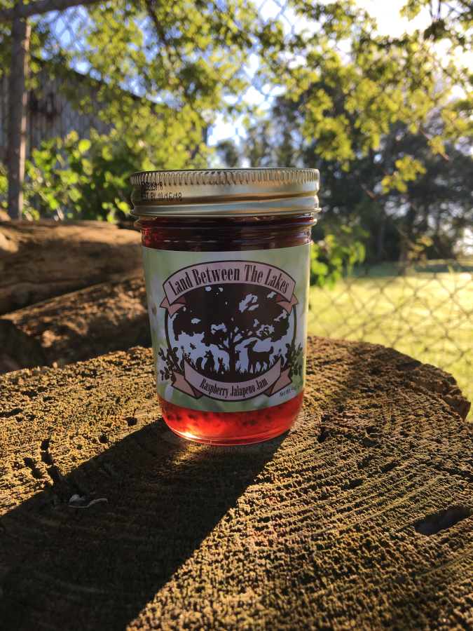 Land Between the Lakes Raspberry Jalapeno Jam