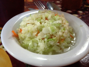 Willow Pond (Aurora) Vinegar Coleslaw