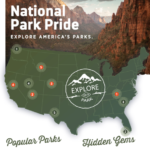 National Parks, By State (Infographics)