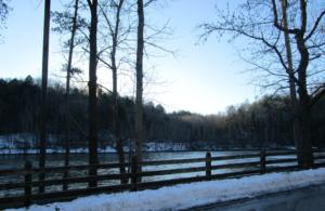 Cumberland Falls State Resort Park in Winter