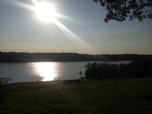 Barren River Lake State Resort Park - Behind the Lodge