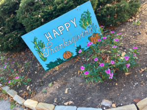 Thanksgiving and Autumn Decorations at Kenlake State Resort Park