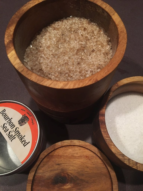 Bourbon Smoked Sea Salt
