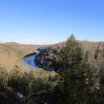 Cumberland River at Cumberland Falls State Resort Park January 2016