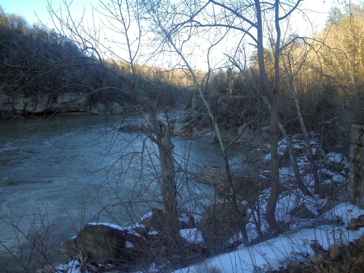 Cumberland Falls at Cumberland Falls State Resort Park