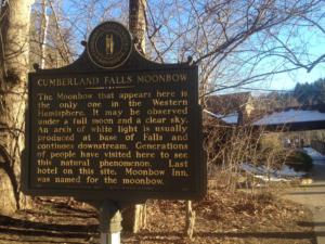 Cumberland Falls State Resort Park Moonbow Sign