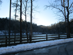 Cumberland River Near the Falls
