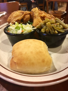 The Feed Mill Fried Chicken, Coleslaw, and Green Beans