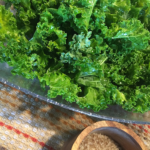 Kale and Bourbon Smoked Sea Salt