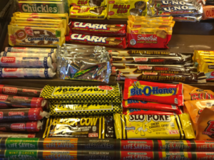 Classic Candy at the Old Country Store in Aurora
