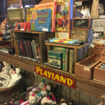 Vintage Toys Games and Books at the Old Country Store