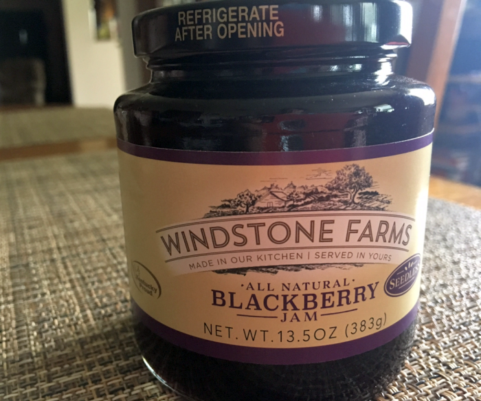 Windstone Farms Blackberry Jam
