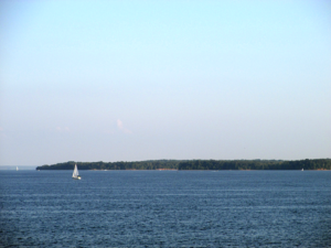 Sailboat on Kentucky Lake