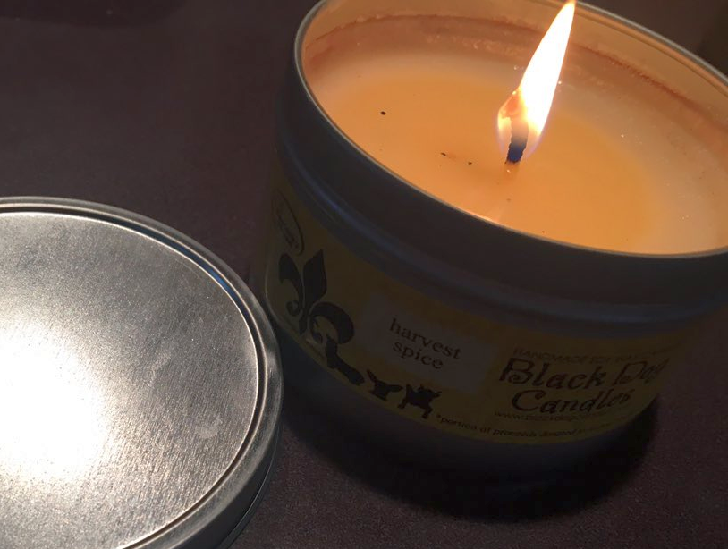 Black Dog Soy Wax Candles:  Homemade Wax Candles Made in Kentucky