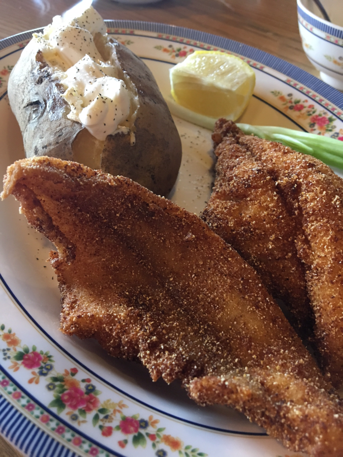 Gluten-Free Fried Catfish at Catfish Kitchen