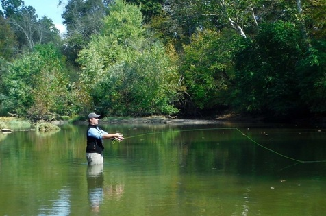 Fly Fishing at Pine Mountain