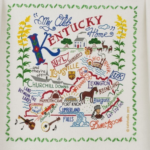 Kentucky Dish Towel: Beautiful Addition to the 2017 Christmas Gift Guide