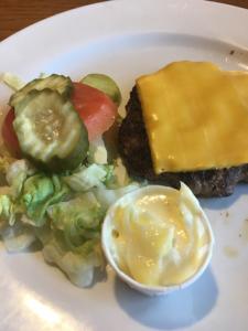 Majestic Cheeseburger Off Bun