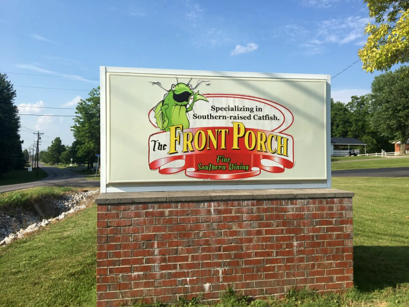 The Front Porch Restaurant in Marion, KY