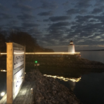 Lighthouse Landing and Kentucky Lake, Winter 2019